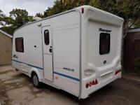 2006 Bailey Ranger 460/2 2 berth caravan Awning, VGC, light to tow, Bargain !