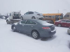 2010 Mazda 6 rebuilder 130k has Stand Transmission.