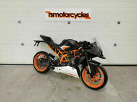 KTM RC 125 16 2016 (16) DAMAGED REPAIRABLE