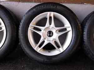 Used All-Season Tires (P185/65R15) on OEM Honda Alloy Rims Oakville / Halton Region Toronto (GTA) image 6
