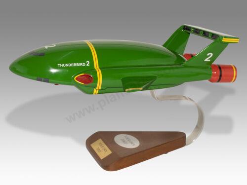 Gerry Anderson Thunderbird Thunderbirds 2 Wood Handcrafted Wood Display Model
