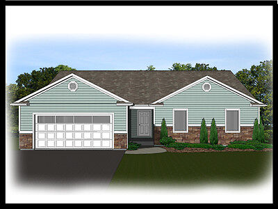 Exclusively Home House Plan 2,639 SF Ranch w/basement & 2nd Story Hand-out Rms  BP#1345