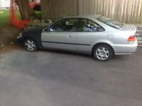 1999 honda civic ls coupe newer motor 150000 vtec auto