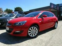 2014 VAUXHALL ASTRA 1.4 16V PETROL RED - TECH LINE - 2 OWNERS - FSH - GREAT SPEC