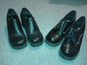 2 pairs of shoes