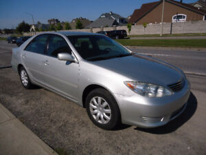 2005 Toyota Camry LE Sedan Comes With Sefety & E Test