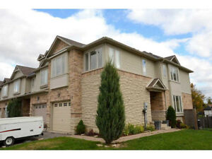 3 bedroom townhouse, end unit in Binbrook
