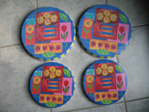 Stove burner covers (set of 4)