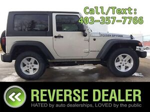 2007 Jeep Wrangler X  6-spd Manual, Trail Rated, 4x4, 2-tone Clo