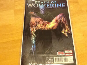 MARVEL COMICS - DEATH OF WOLVERINE - COMPLETE SET OF FOUR London Ontario image 4