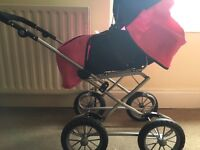 Children's play pram for sale with accessories