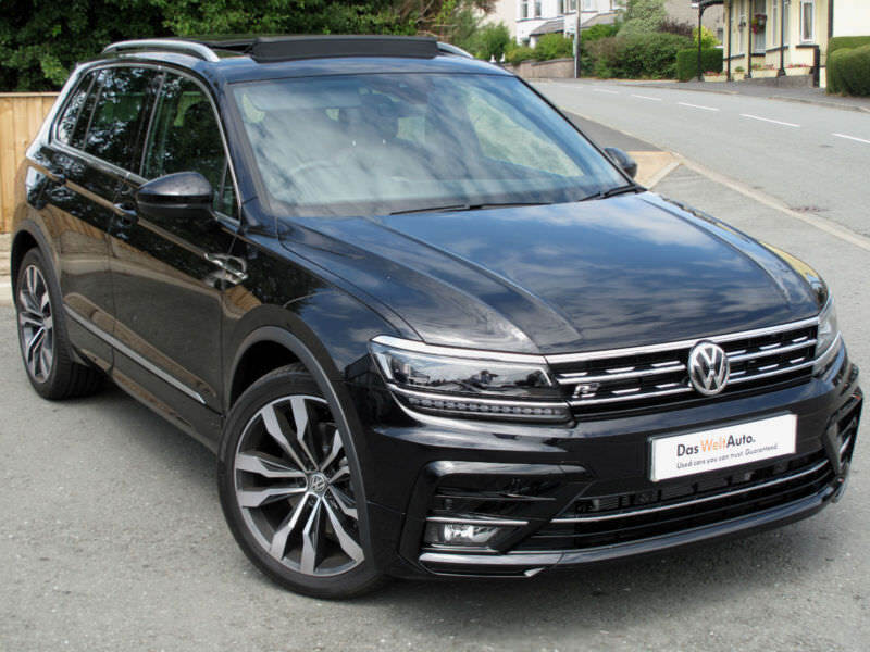 volkswagen tiguan r line 4x4 2 0 tdi 190ps 4 motion auto. Black Bedroom Furniture Sets. Home Design Ideas