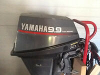 9.9 yamaha, four stroke, electric start, remote controlled, 9.