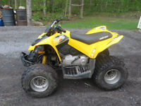 2011 CAN AM DS 90