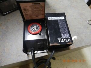 All weather timer MasterCraft