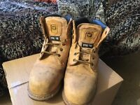 Steel Capped Boots - Very good quality - Size 9