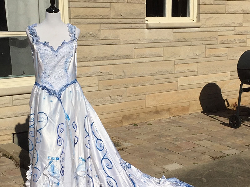 Corpse Bride Wedding Gown: How To Make A Corpse Bride Costume