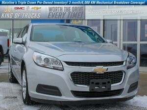 2016 Chevrolet Malibu Limited LT | Sunroof | Rear Vision Camera