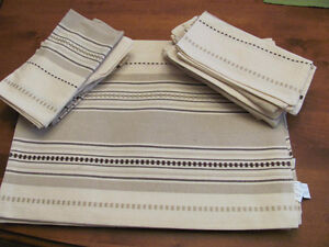 Cotton Place Mats and Napkins