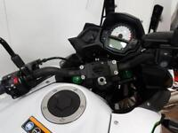 KAWASAKI VERSYS 650 ABS,Top Case and LED Spot Lamps