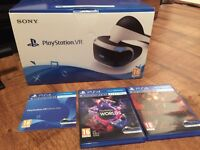 Ps4 vr bundle with games and ps camera sold out everywhere