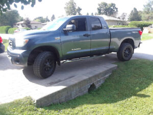 2008 Toyota tundra certified lifted dual exhaust fuel rims