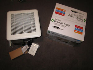 DewStop® F100-W1 Bathroom Ventilation Fan with Fan Control - ope