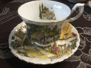 Royal Albert English Village Teacup