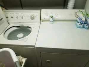 Large Maytag electric dryer, Kenmore washer GE dishwasher