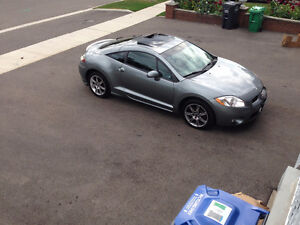 2008 Mitsubishi Eclipse gt Coupe 6-Speed safety etest 186km