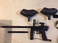 Paintball Marker + Accessories