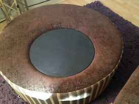 Make me an offer! Large rotating Pouffe from DFS!