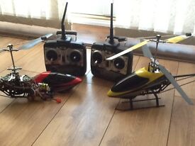 Razor cx helicopters spare or repair