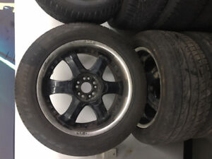 TOYO VERSADO CUV TIRES W/ RIMS FOR SALE!!! 265/50/20 x4