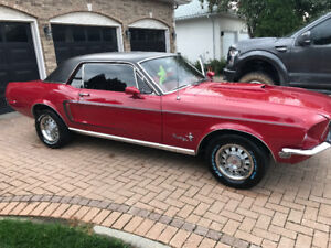 1968 ford mustang gt resto rod 394hp auto amazing $31900