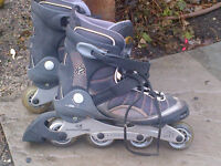 Various Rollerblades skates available