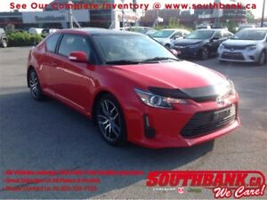 2015 Scion tC Panoramic Sunroof, Bluetooth, Coupe