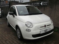 14 14 FIAT 500 POP S/S 3DR WHITE VERY LOW MILEAGE £30 TAX MOT AUG 2019 LOW INS