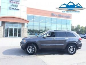 2016 Jeep Grand Cherokee Limited  ACCIDENT FREE, WARRANTY, BLUET