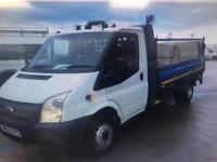 2013 62 FORD TRANSIT 2.2TDCi RWD LWB DROPSIDE TAIL-LIFT /ON BOARD LCD WEIGHING