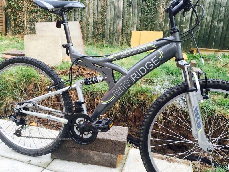 Mountain Bike Mtn Ridge 26 Like New In Leicester