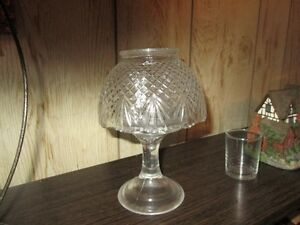 GLASS CANDLE LAMP