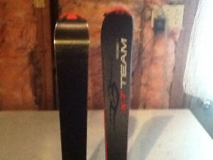 Brand new Techno Pro XT team skis (150) with boots and poles