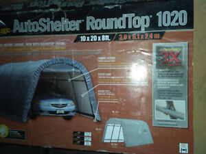 selling NEW auto shelter for 100$ (never used)