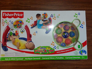Fisher Price Kick and Whirl Carnival