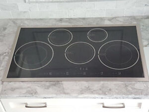 """36"""" Induction cooktop stove 5 burners"""