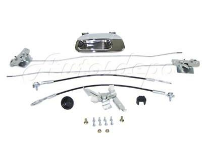 Brand New Rear Tailgate Hardware Repair Kit Chr for 1997-2003 Ford F150 Truck