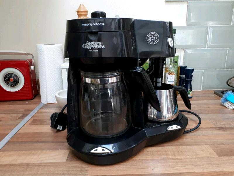 Coffee Machine With Milk Frother Morphy Richards In Dibden Purlieu Hampshire Gumtree