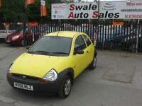 2006 FORD KA 1.3L ONLY 78,667 MILES, FULL SERVICE HISTORY, IDEAL 1ST CAR