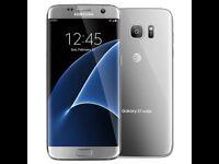 Samsung Galaxy S7 Edge in silver (32GB) Brand New Boxed Unused Unlocked